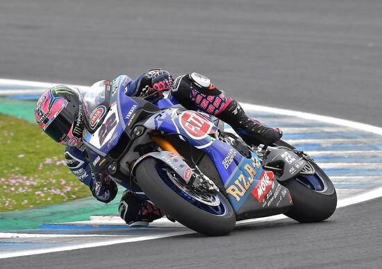 Lowes chiude in testa la prima giornata di prove a Jerez