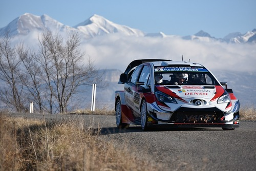 WRC 2019. Monte-Carlo. Ouverture. Tanak (Toyota)
