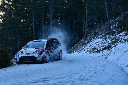 WRC19, Monte-Carlo. Roba da Chiodi, Ogier (Citroen) in Testa (5)