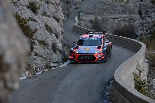 WRC19, Monte-Carlo. Roba da Chiodi, Ogier (Citroen) in Testa (7)