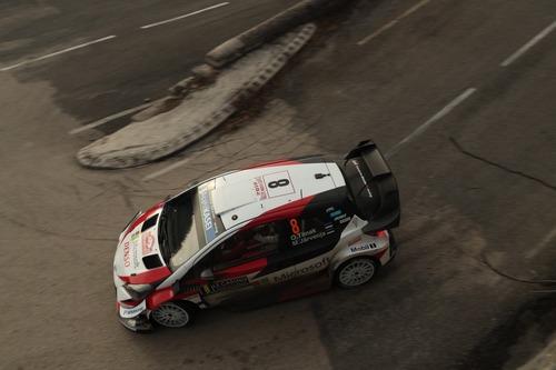 WRC19, Monte-Carlo: Ogier (Citroen) un Mostro (2)