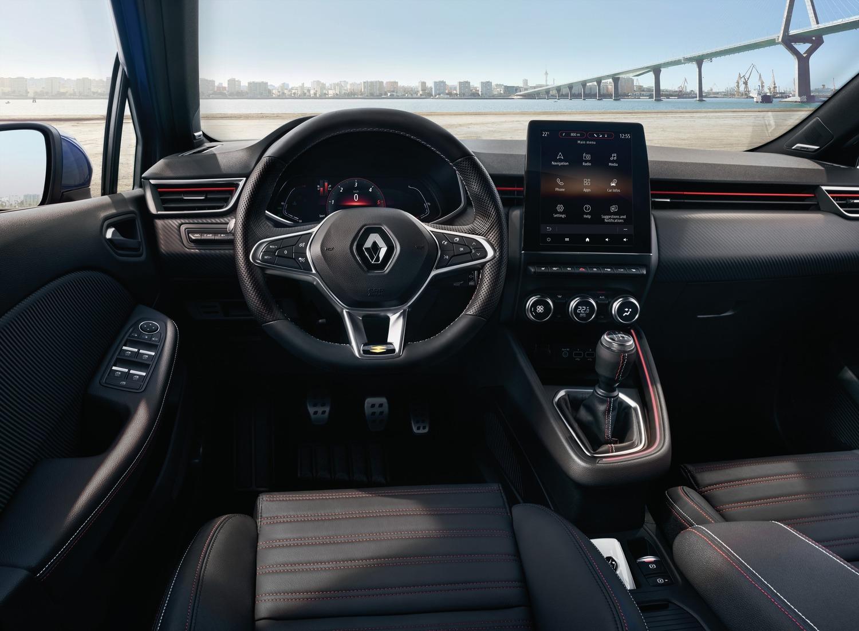 Nuova Renault Clio, svelati gli interni