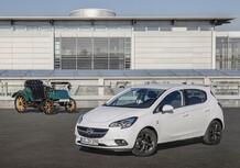 Opel Corsa, un'edizione speciale per i 120 anni del Marchio