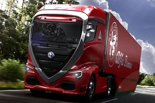 Super Camion Alfa Romeo, ecco il rendering degli ungheresi