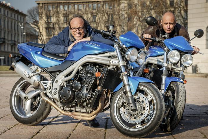 Guido Meda racconta a Moto.it il suo amore per la Speed 955, che gli fu regalata dalla allora fidanzata (oggi moglie e mamma dei suoi tre splendidi figli)