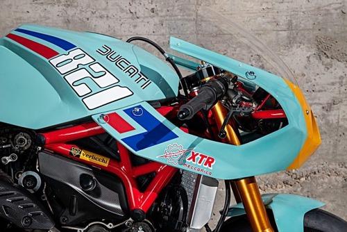 Ducati Monster 821 Pantah: una café racer pensata per le prestazioni (8)