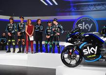 Presentato lo Sky Racing Team VR46 di Moto2 e Moto3
