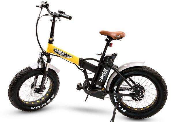 Ducati Scrambler. LeBike pieghevole e fat
