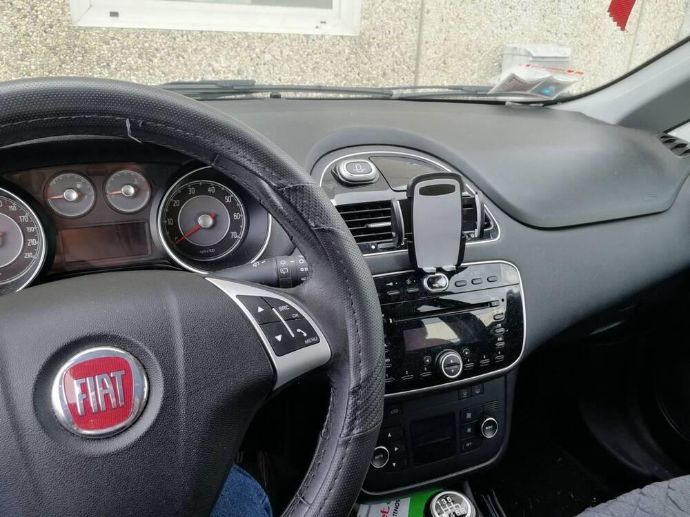 Fiat Punto 0.9 TwinAir Turbo 105 CV S&S 5 porte Lounge del 2014 usata a Monticello Brianza (3)