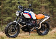 BMW R1100GS, una scrambler realizzata da Red Hot Chili Customs