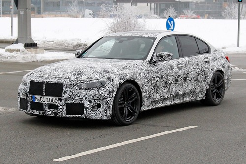 Nuova BMW M3, le foto spia (3)