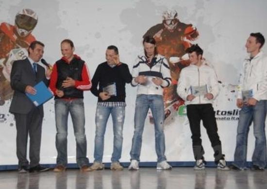 Premiati i Campioni Italiani di Enduro e Motoslitte