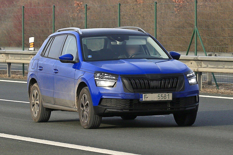 Skoda Kamiq, le foto del nuovo SUV senza veli!