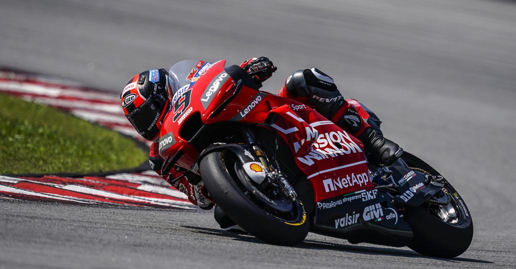 LIVE - I test MotoGP 2019 a Sepang. Petrucci chiude in testa