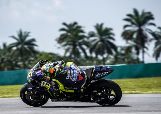 MotoGP test. Rossi: Preoccupato se la gara fosse domani