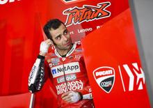 MotoGP test. Petrucci: Che gusto quel tempo, ma conta poco