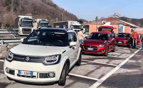 Renato Travaglia al Sanremo 2019, Festival: dopo il Rally l'eco drive Suzuki (5)
