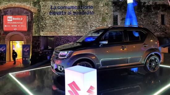 La Suzuki Ignis ibrida è stata la più parsimoniosa nel giungere al Festival: media 31.5 km/l