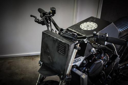 Kawasaki Z1000: una scrambler insolita e tagliente (5)