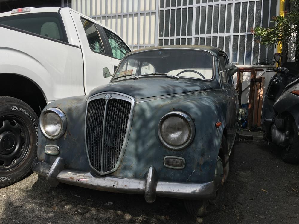 Appia II Serie d'epoca del 1956 a Ferrara