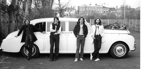 I Beatles e una Rolls