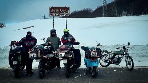 Crazy Italian Rally. Mamely & Bellini Polverizzano il Record!