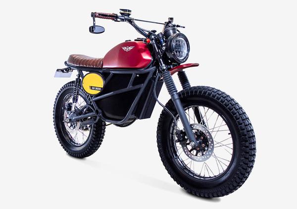 Fly Free Smart Desert: la moto elettrica che strizza l'occhio agli anni '70