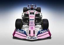 F1 2019: Racing Point, ecco la vettura per la nuova stagione [Video]