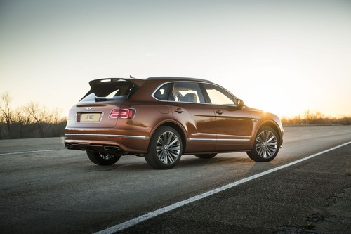 Bentley Bentayga Speed, il SUV più veloce del mondo (5)
