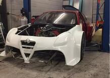 """Alfa-tarocchi crescono: in UK la """"Giulietta V8"""" da 450 cavalli"""