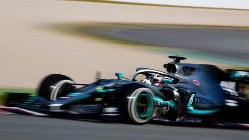 F1 2019 test Barcellona: la Ferrari di Vettel al comando nel Day1 (2)