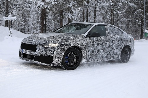 BMW Serie 2 Gran Coupé: foto spia (4)