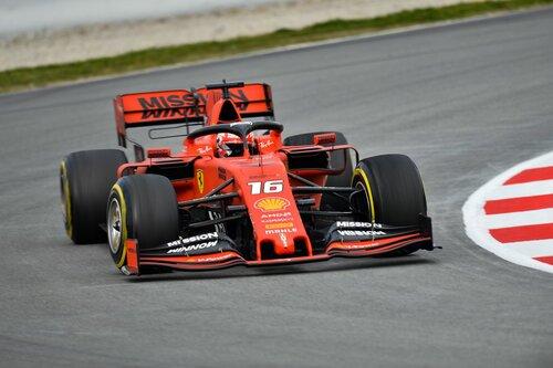 F1 2019, test Barcellona, Day 2: Leclerc al top