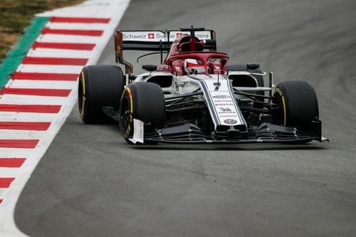 F1 2019, test Barcellona, Day 3: Kvyat al top (2)