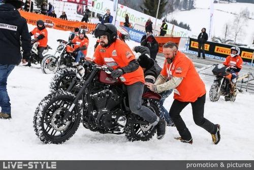 Harley & Snow: la gara sulla neve torna dal 15 al 17 marzo (4)