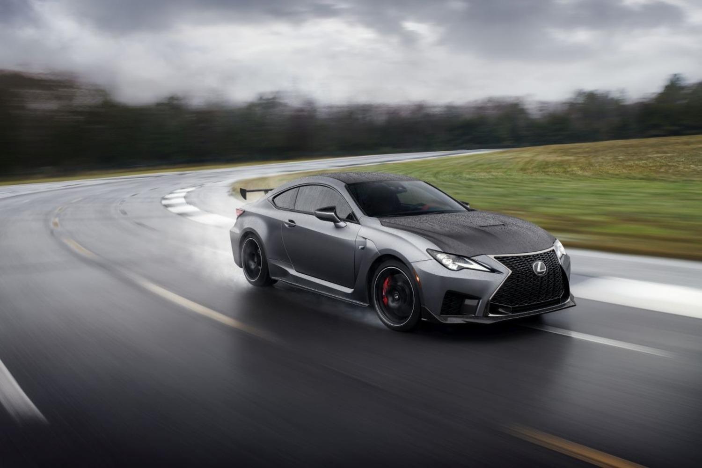 Lexus RC F Track Edition al Salone di Ginevra 2019