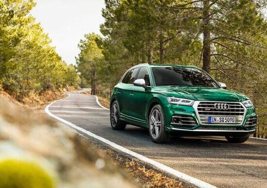 Audi SQ5, arriva il diesel da 347 CV e 700 Nm di coppia