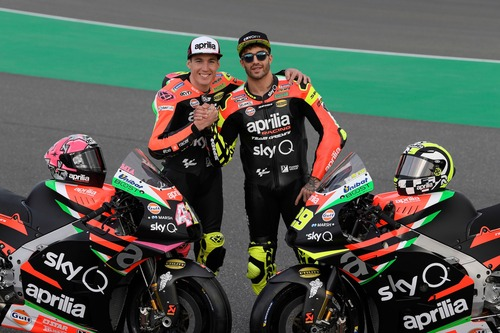 Aprilia MotoGP 2019 di Iannone e Espargarò: ecco la nuova livrea (2)