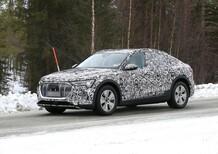 Audi e-tron: il SUV elettrico diventa Sportback [Foto spia]