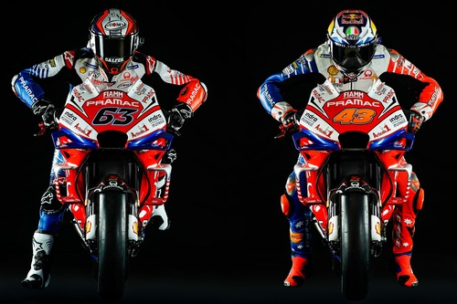 Ducati Pramac: la livrea 2019 di Bagnaia e Miller (4)