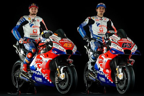 Ducati Pramac: la livrea 2019 di Bagnaia e Miller (9)