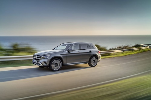 Mercedes GLC, il restyling al Salone di Ginevra 2019