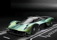 Aston Martin ufficializza la potenza per la Valkyrie
