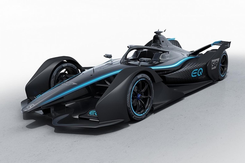 Formula E, Mercedes svela la livrea concept per il 2019/2020