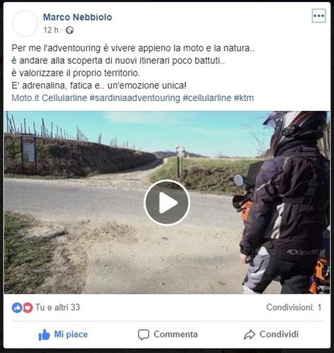 Sardinia Adventouring: ecco il fortunato vincitore dell'iniziativa Cellularline (3)