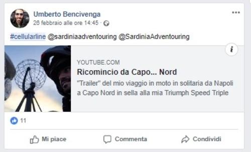 Sardinia Adventouring: ecco il fortunato vincitore dell'iniziativa Cellularline (9)