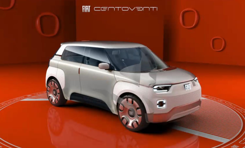 Fiat Centoventi concept: ecco le prime immagini live