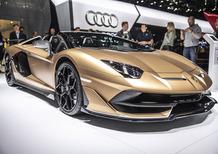 Lamborghini Aventador SVJ Roadster al Salone di Ginevra 2019 [Video]