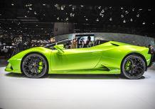 Lamborghini Huracan EVO Spyder al Salone di Ginevra 2019 [Video]