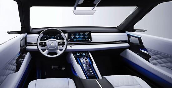 Gli interni del nuovo SUV concept di Mitsubishi